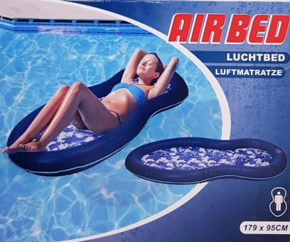 Luftmatratze Camping Badeinsel Pool Wassermatratze Badenetz