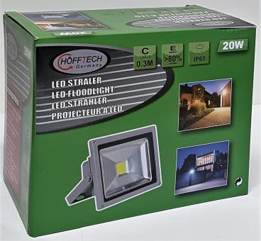 LED Strahler 20W HÖFFTECH Fluter Baulampe Arbeitslampe