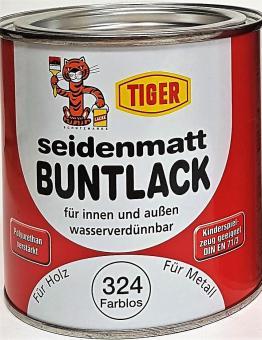 Buntlack seidenmatt Tiger für Holz + Metall Kinderspielzeug