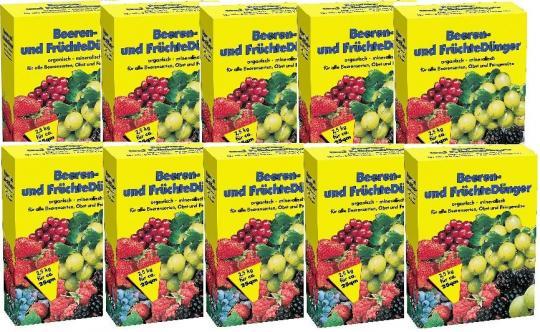 BEERENDÜNGER & FRÜCHTEDÜNGER 2,5 kg Dünger Fruchtdünger