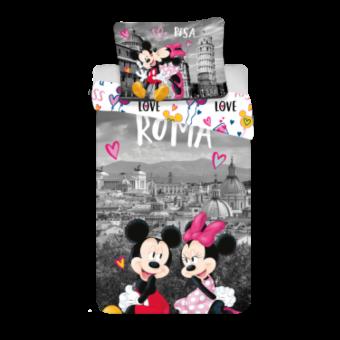 ettwäsche-Set Minnie und Mickey Maus Roma, 100% Baumwolle 140x200 cm