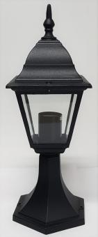 Stehlampe Gartenlampe Außen Lampe Laterne Leuchte  Aluminium