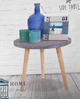 Beistelltisch Couchtisch Telefontisch Deko Tisch HOLZ 39x32cm