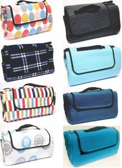 Campingdecke Picknickdecke Decke 135 x 170cm Isomatte Fleece