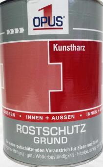 OPUS1 Rostschutzgrund 2,5L Rostschutz Kunstharzlack rotbraun