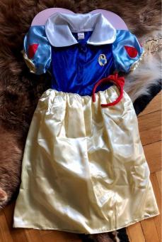 DISNEY PRINCESS Schneewittchen Gr. 134-140 Kostüm mit Geschenkverpackung