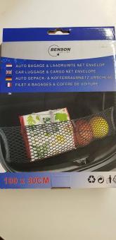 Auto Gepäck & Kofferraumschutz 100 X 30CM Trennnetz Kunststoff Polyester Netz