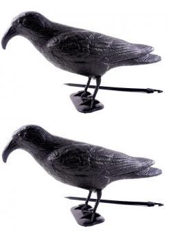 Taubenschreck Krähe Rabe Vogel Taubenabwehr Vogelschreck schwarz