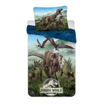 Jerry Fabrics Jurassic World Bettwäsche 140x200 + 70x90