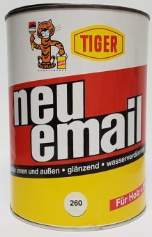 Acryllack Tiger neu-email  2,5L glänzend Buntlack Holz + Metall