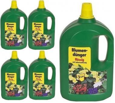 Blumendünger 3L flüssig Universaldünger Flüssigdünger Sofortwirkung