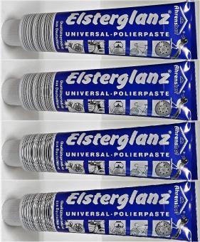 Elsterglanz 150ml (4x) Universal Polierpaste Silber Bronze Gold