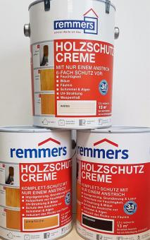 2,5L remmers Holzschutzcreme Holzschutz Farbe Anstrich Holzpflege