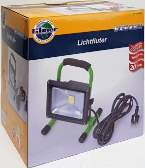 LED Lichtfluter Flutlichtstrahler 20W  Fluter LED-Flutlicht Aussenstrahler Licht