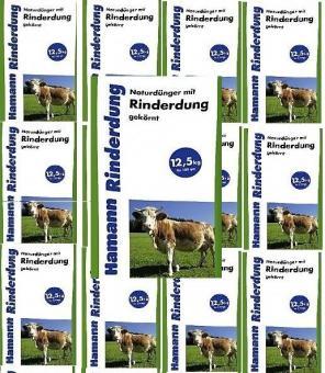 RINDERDUNG 12,5kg Naturdünger Kuhmist Rindermist Dung Dünger