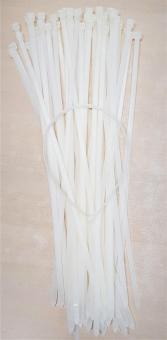 Kabelbinder 7,8x450mm weiß Kabelstrapse  100-500 Stück