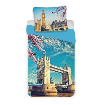 London Tower Bridge Bettwäsche, Bettbezug aus Baumwolle