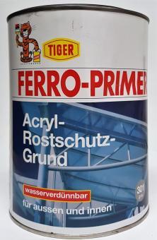 Acryl Rostschutzgrund 2,5L Ferro-Primer Tiger außen + innen