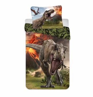 Jurassic World Volcano Dinosaur Bettwäsche 140x 200 cm + 70x90 cm