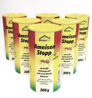 Ahrenshof Ameisen Stopp 300g Pulver Ameisenabwehr Ameisenmittel