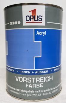OPUS1 Vorstreichfarbe 2,5L matter weißer Acryllack