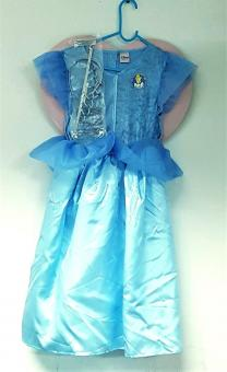 DISNEY PRINCESS Aschenputtel Gr. 122-128 Kostüm Geschenkverpackung