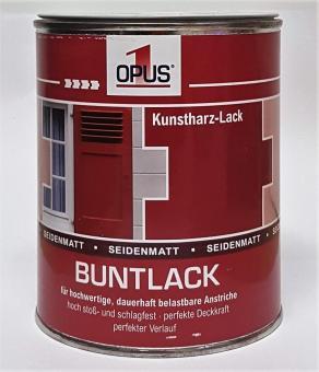 Opus1 Buntlack SEIDENMATT 0,75L KUNSTHARZLACK Farbe Lack