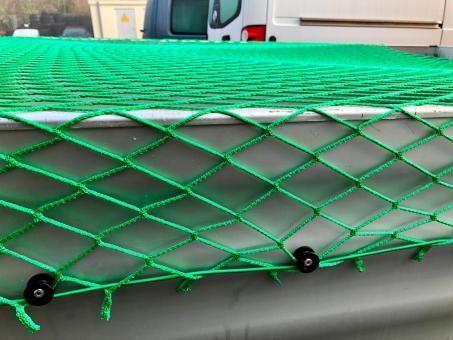Anhängernetz 220x150cm Transportnetz Abdecknetz Sicherheits Netz S