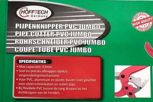 PVC Rohrschneider Rohrabschneider Alu Verbundrohr Rohrschere 63mm Schere