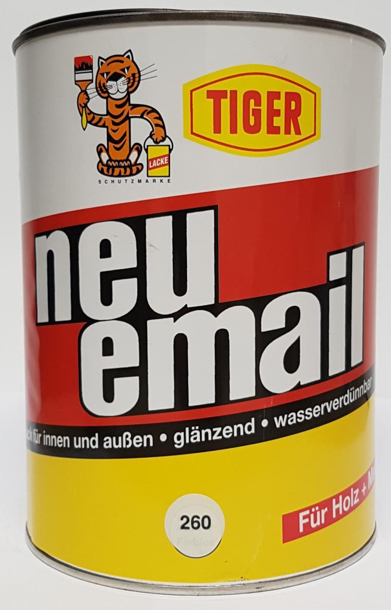 Kingkauf Acryllack Tiger Neu Email 25l Glänzend Buntlack Holz